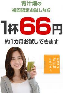 青汁畑_お試し_1杯66円
